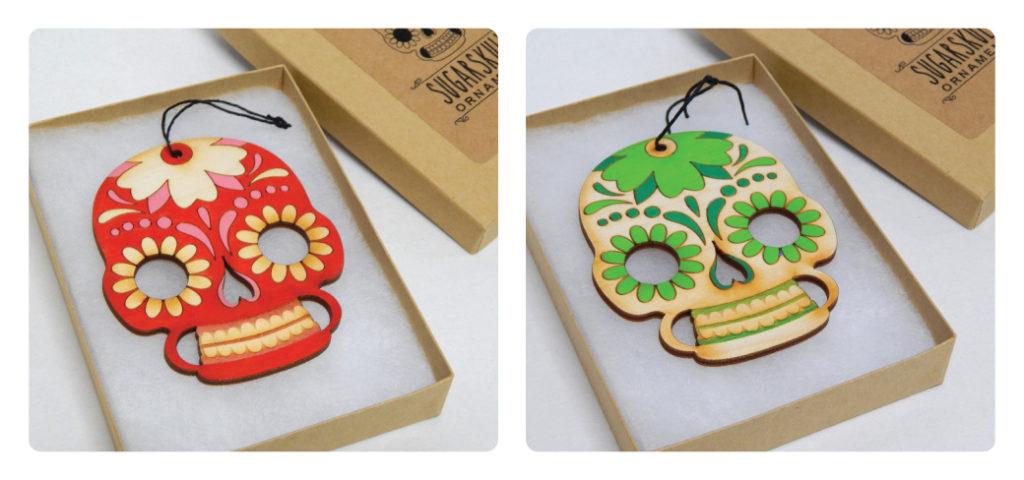 Sugar Skull Ornaments