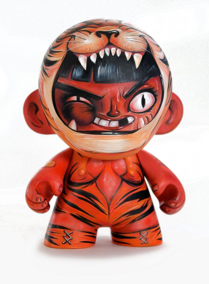 Tiger Wrestler